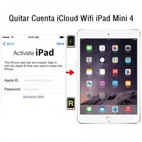 Quitar Cuenta iCloud Wifi iPad Mini 4