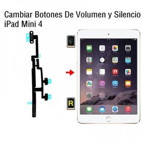 Cambiar Botones De Volumen y Silencio iPad Mini 4