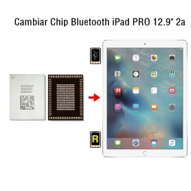 Cambiar Chip Bluetooth iPad Pro 12.9 2nd Gen