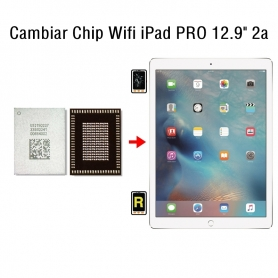 Cambiar Chip Wifi iPad Pro 12.9 2nd Gen