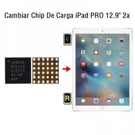 Cambiar Chip De Carga iPad Pro 12.9 2nd Gen