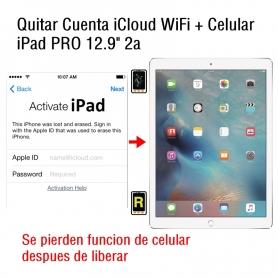 Quitar Cuenta iCloud WiFi + Celular iPad Pro 12.9 2nd Gen