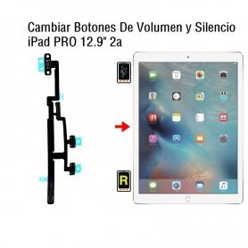 Cambiar Botones De Volumen y Silencio iPad Pro 12.9 2nd Gen