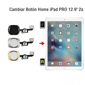 Cambiar Botón Home iPad Pro 12.9 2nd Gen
