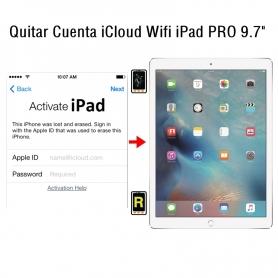 Quitar Cuenta iCloud Wifi iPad Pro 9.7