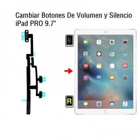 Cambiar Botones De Volumen y Silencio iPad Pro 9.7