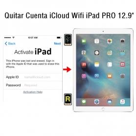 Quitar Cuenta iCloud Wifi iPad Pro 12.9