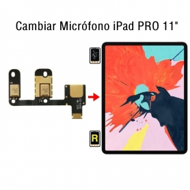 Cambiar Micrófono iPad Pro 11