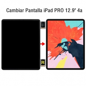 Cambiar Pantalla iPad Pro 12.9 4nd Gen