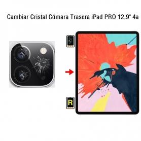 Cambiar Cristal Cámara Trasera iPad Pro 12.9 4nd Gen