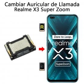 Cambiar Auricular De Llamada Realme X3 Super Zoom