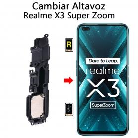 Cambiar Altavoz De Música Realme X3 Super Zoom