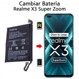 Cambiar Batería Realme X3 Super Zoom