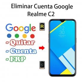 Eliminar Cuenta Google Realme C2