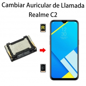 Cambiar Auricular De Llamada Realme C2