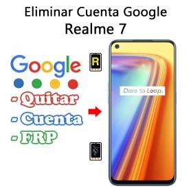 Eliminar Cuenta Google Realme 7