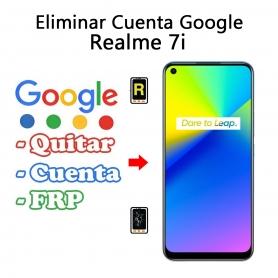 Eliminar Cuenta Google Realme 7i