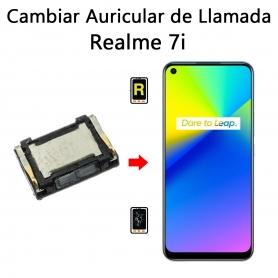 Cambiar Auricular De Llamada Realme 7i