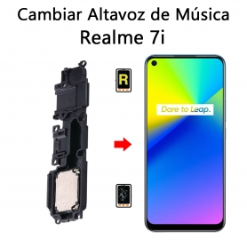 Cambiar Altavoz De Música Realme 7i