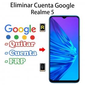 Eliminar Cuenta Google Realme 5