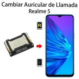 Cambiar Auricular De Llamada Realme 5