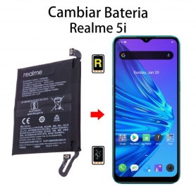 Cambiar Batería Realme 5i