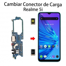 Cambiar Conector De Carga Realme 5i