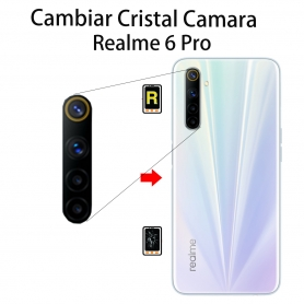 Cambiar Cristal Cámara Trasera Realme 6 Pro
