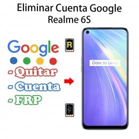 Eliminar Cuenta Google Realme 6s