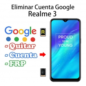 Eliminar Cuenta Google Realme 3