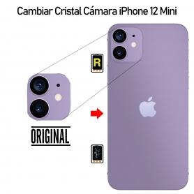 Cambiar Cristal Cámara iPhone 12 Mini