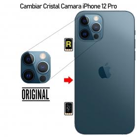 Cambiar Cristal Cámara iPhone 12 Pro