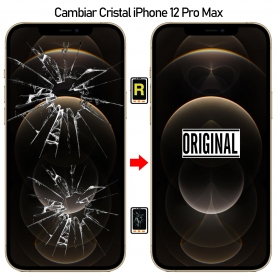 Cambiar Cristal De Pantalla iPhone 12 Pro Max
