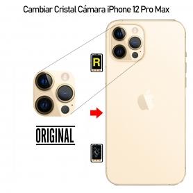Cambiar Cristal Cámara iPhone 12 Pro Max