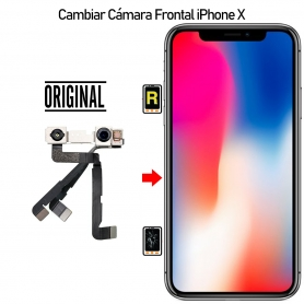 Cambiar Cámara Frontal iPhone X