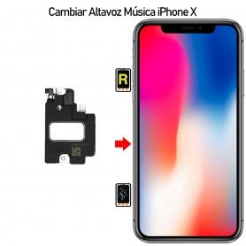 Cambiar Altavoz de Llamada iPhone X