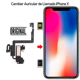 Cambiar Auricular de llamada iPhone X