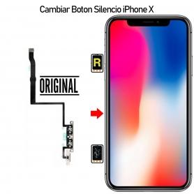 Cambiar Botón Silencio iPhone X