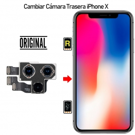 Cambiar Cámara Trasera iPhone X