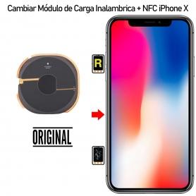 Reparar Carga Inalámbrica + NFC iPhone X