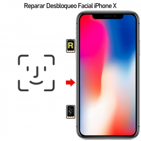 Reparar iPhone X Desbloqueo de Face id