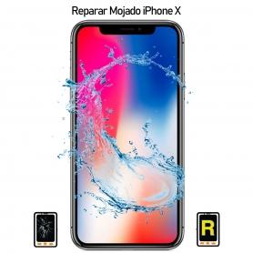 Reparar iPhone X Mojado
