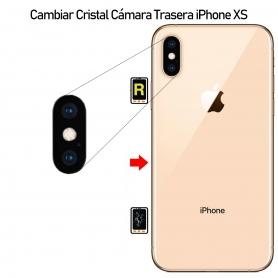 Cambiar Cristal Cámara iPhone XS