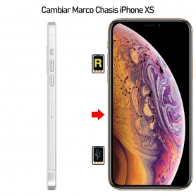 Cambiar Marco Chasis iPhone XS