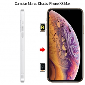 Cambiar Marco Chasis iPhone XS Max