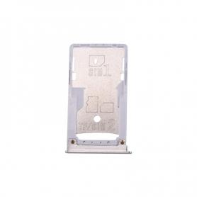 Bandeja Dual SIM Y SD Plateada Para Xiaomi Mi Max