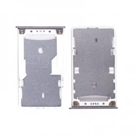 Bandeja SIM Y SD Plateada Para Xiaomi Redmi 4