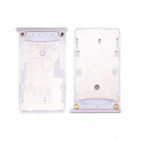 Bandeja SIM Y SD Gris Para Xiaomi Redmi 4