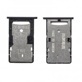 Bandeja Dual SIM/SD Negro Para Xiaomi Redmi 4A