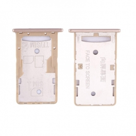 Bandeja Dual SIM/SD Dorado Para Xiaomi Redmi 4A